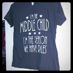 {NWOT} Middle Child Tee